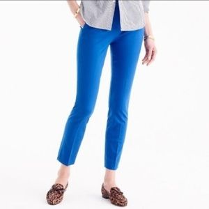 J.Crew Factory Blue City Fit Winnie Crop Pants